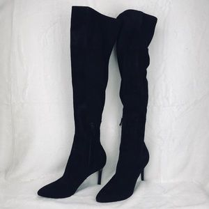 Cole Haan Soft Suede Over The Knee Boots Sz 9B